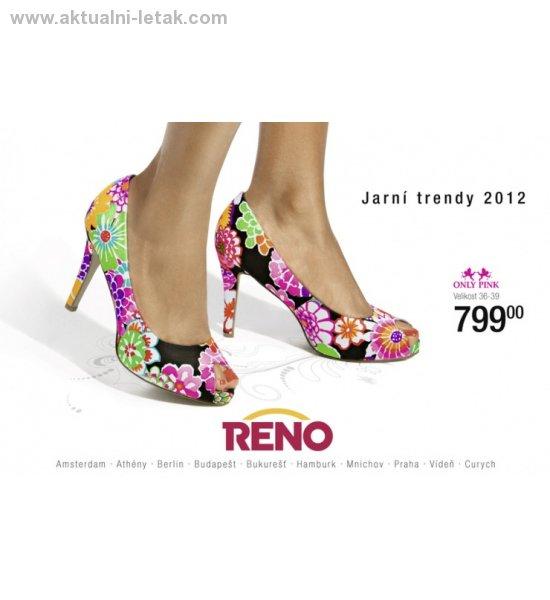 63185a7705e9 Jarní kolekce Reno obuv 2012